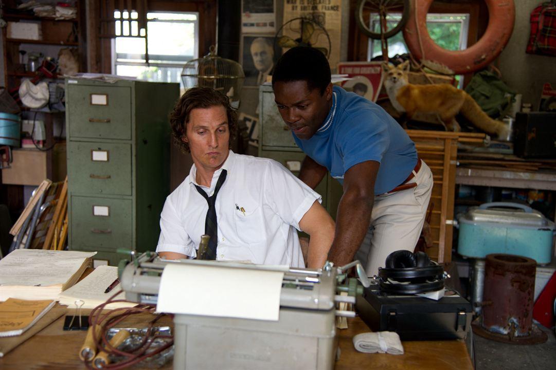 El chico del periódico: Matthew McConaughey, David Oyelowo