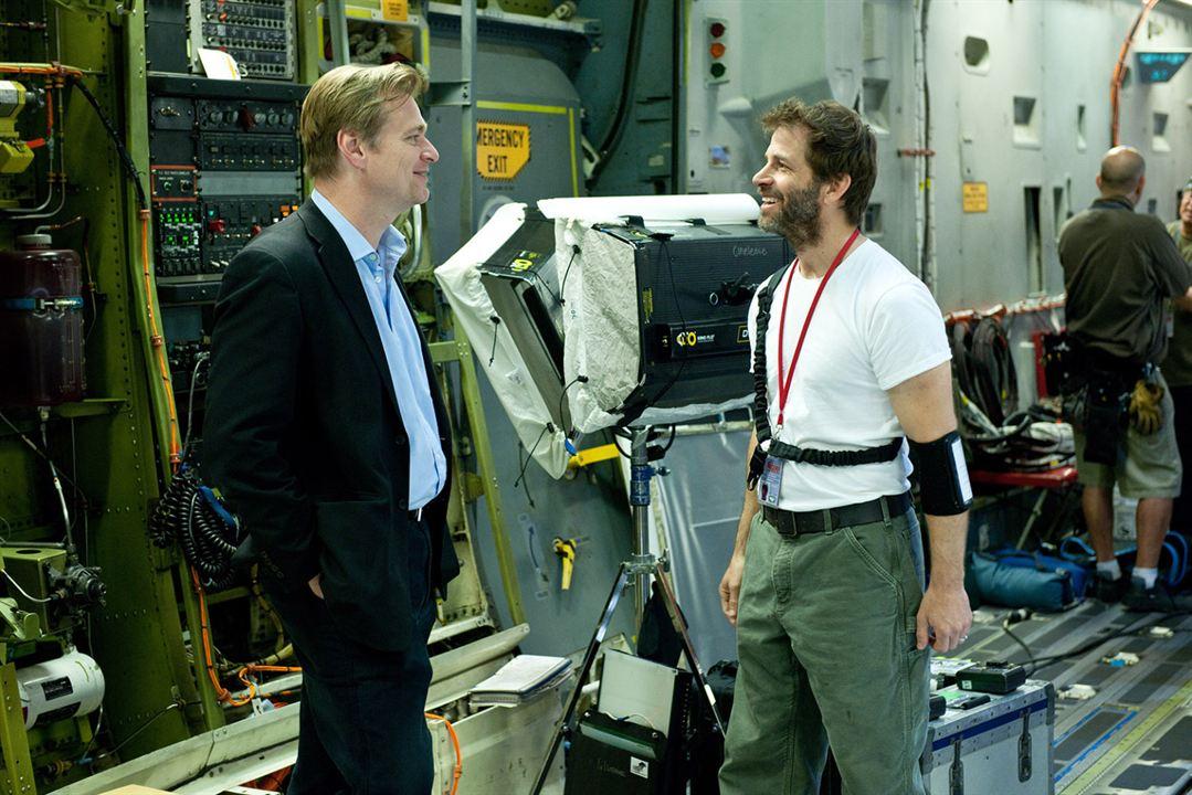El Hombre de Acero : Foto Christopher Nolan, Zack Snyder