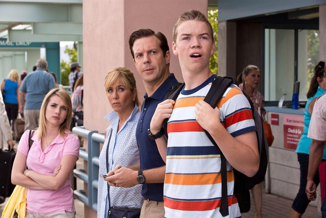 Somos los Miller: Jennifer Aniston, Emma Roberts, Jason Sudeikis, Will Poulter