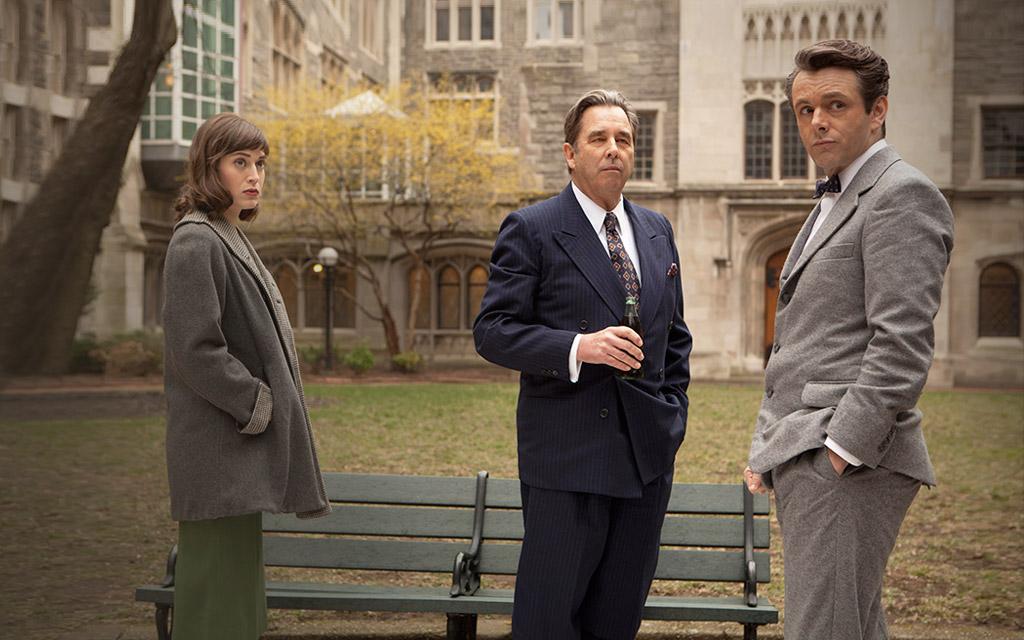 Foto Beau Bridges, Lizzy Caplan, Michael Sheen