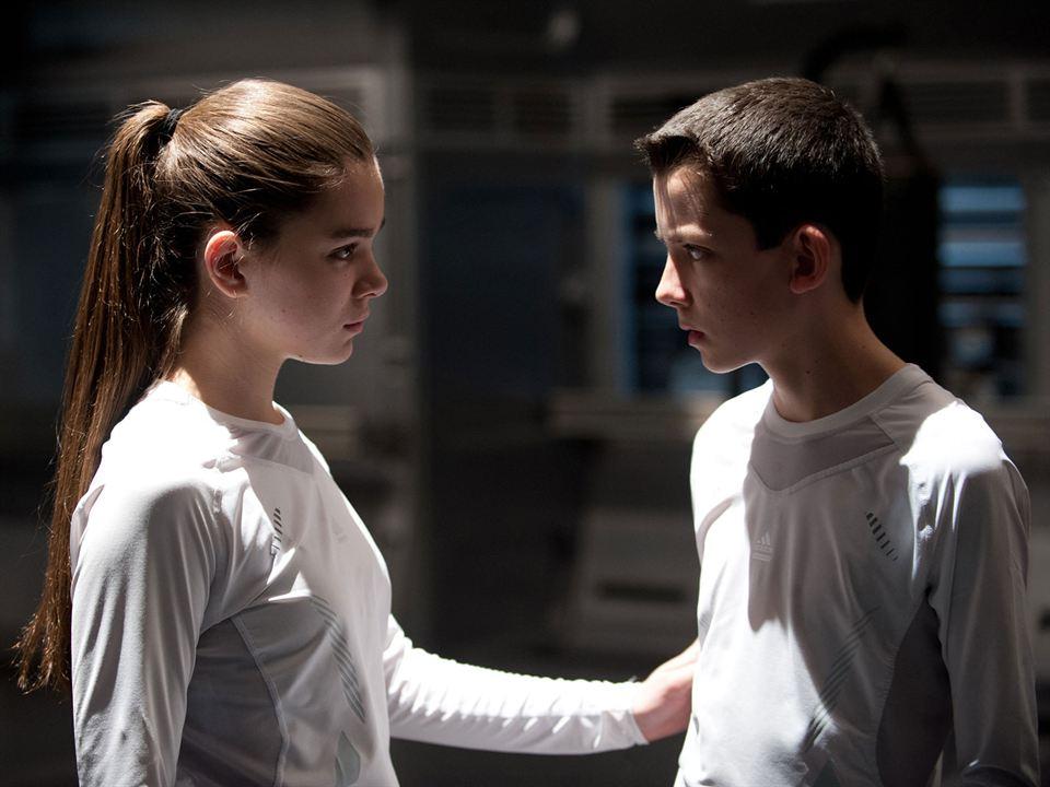 El juego de Ender : Foto Asa Butterfield, Hailee Steinfeld