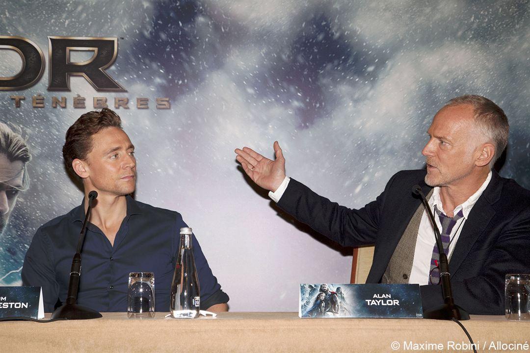 Thor: El mundo oscuro : Couverture magazine Alan Taylor, Tom Hiddleston