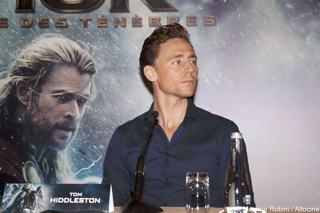 Thor: El mundo oscuro : Couverture magazine Tom Hiddleston