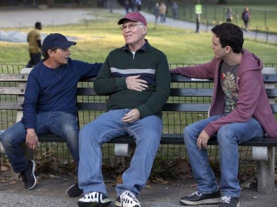 Foto Charles Grodin, Conor Romero, Michael J. Fox