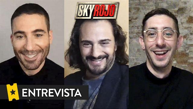 Miguel Ángel Silvestre, Enric Auquer, Asier Etxeandia Entrevista: Sky Rojo